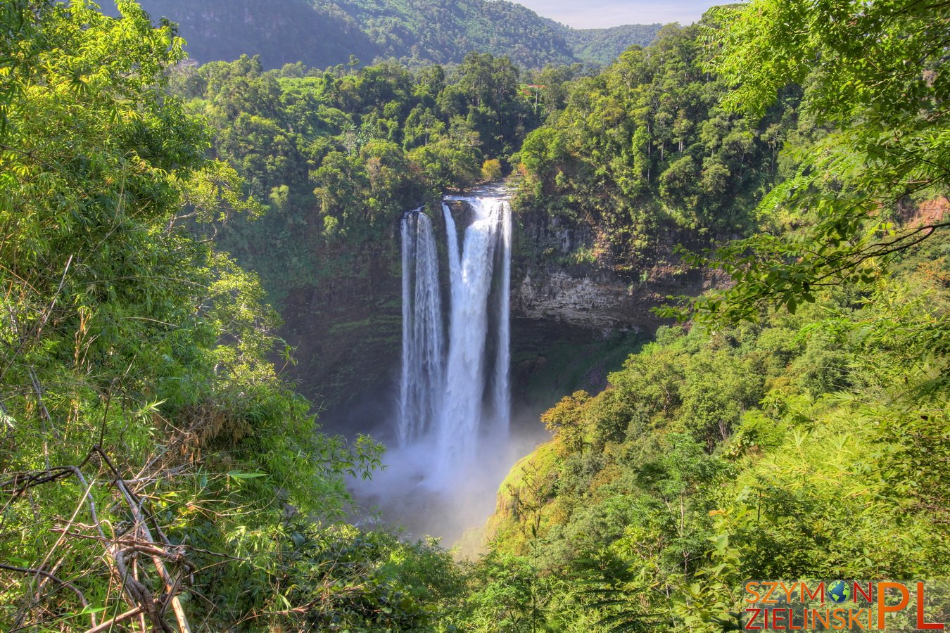 Bolaven Plateau, Laos - Sekong to Pakse - Beautiful waterfalls and coffee plantations