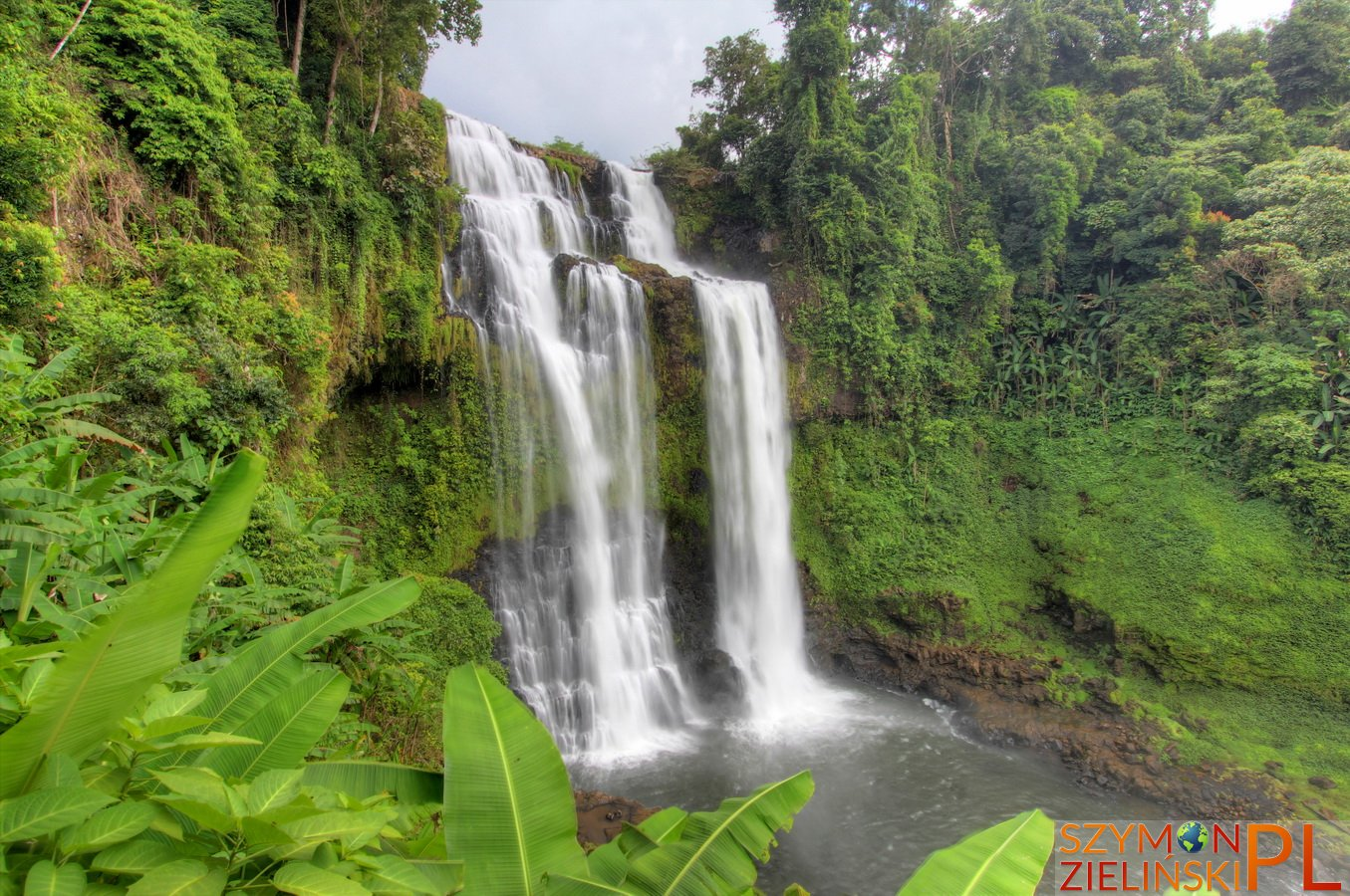 Bolaven Plateau, Laos - Pakse to Sekong - Beautiful waterfalls and coffee plantations