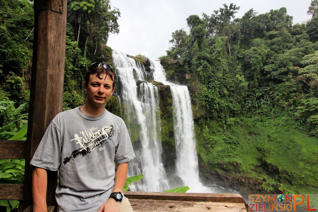Bolaven Plateau, Laos - Pakse to Sekong - Beautiful waterfalls and coffee plantations