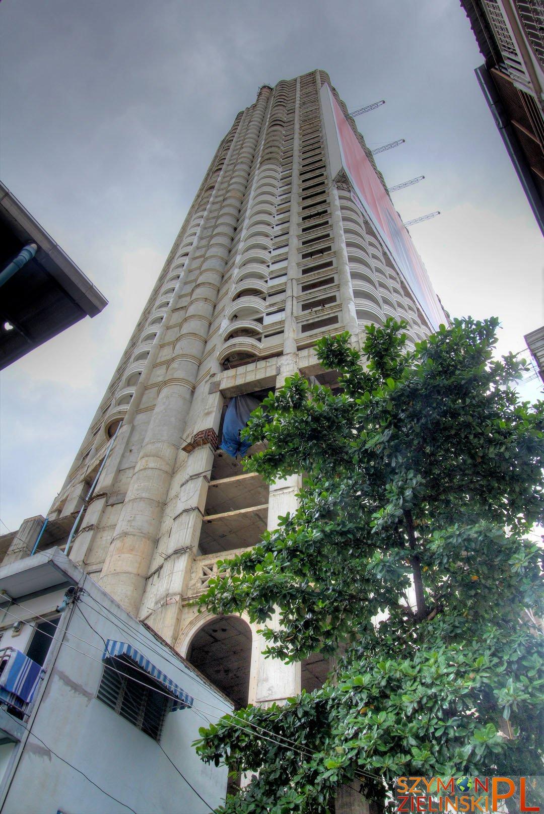 Sathorn Unique - Ghost Building, Bangkok, Thailand - Sathiorn Unique - Nawiedzony Budynek, Bangkok, Tajlandia